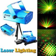 Mini LED Laser Projector Light multi Color Star Shower Laser Stage Lighting Adjustment DJ Party Home Wedding Club Projector