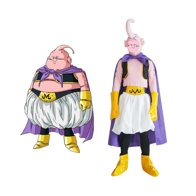 Anime Dragon Ball Z Cosplay Majin Buu Cosplay Costumes Uniform Halloween Carnival Party Game Dragon Ball