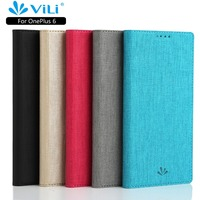 Luxury Leather Sackcloth Smart Magnetic Wallet Flip Case Cover For OnePlus 6T 6 5T 3T 7 Pro