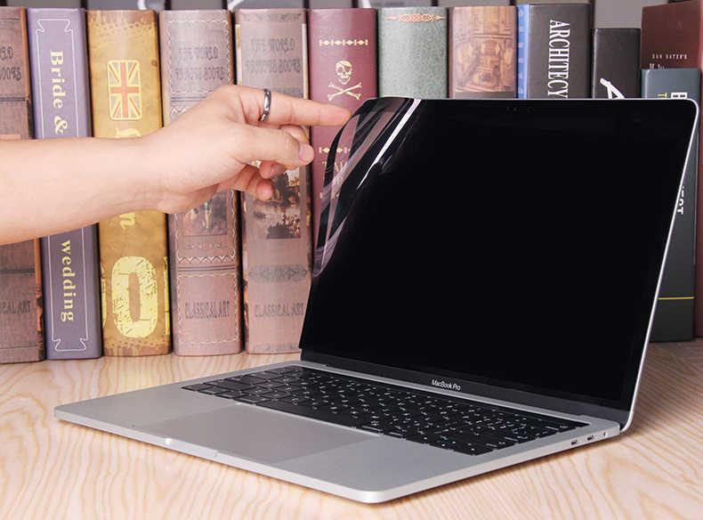 XSKN A1707 محمول واقي للشاشة ل ماك بوك برو 15 شريط مسة لمكافحة بلو راي واضح HD شاشة الكمبيوتر المحمول واقية لا الغراء فيلم