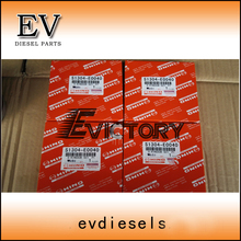 N04C N04CT piston ring set S1304-E0040 para Hino Caminhão ou marinha