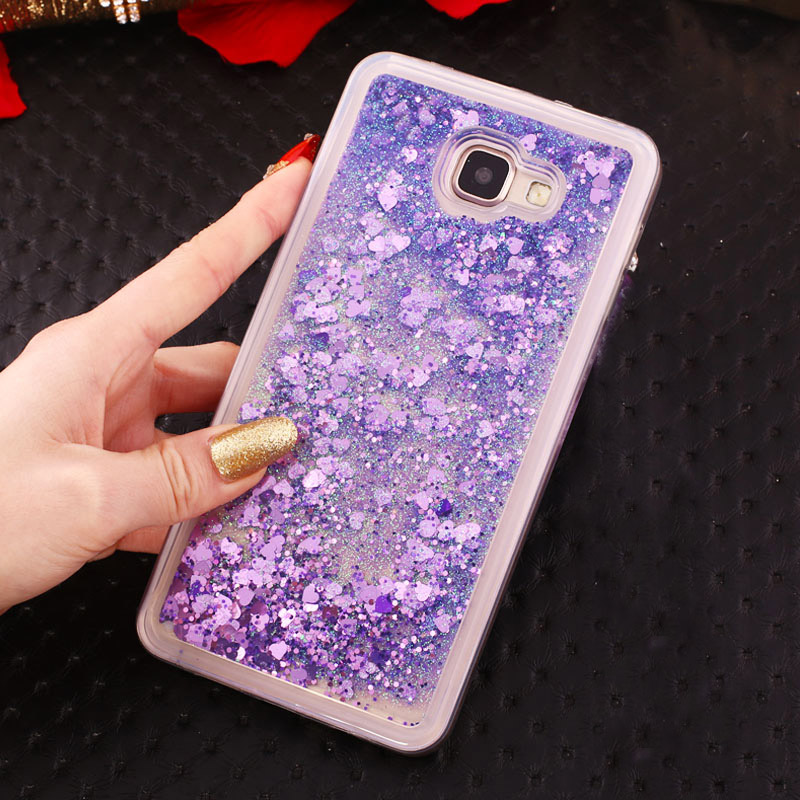 Luxury Dynamic Liquid Glitter Quicksand Soft For Huawei Honor 4C Pro TIT L01 U02 Case For HUAWEI Y6 Pro Y6Pro TIT-L01 TIT-U02