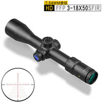 DISCOVERY HD 3 18x50SFIR FFP Hunting Airsofts Scopes Optical Sights 34MM Tube Military First Focal Plane Riflescope