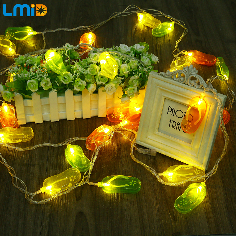 LMID 5M Waterproof 110V 220V 30 LED Holiday String lights For Decor Home Outdoor Christmas Festival Party Fairy LED Lighting