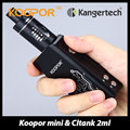 Original Electronic Cigarettes Kit SMOK 60W KOOPOR Mini Box Mod & Kanger CLTANK 2ml Tank Vape Support TC VW Mode without Battery