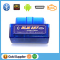 100pcs/lot! Lowest Price ELM 327 Bluetooth V2.1 OBD II Works on Android Torque Auto Diagnostic Tool ELM327 Mini Bluetooth