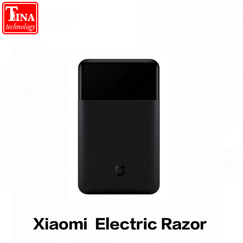 2018 New Original Xiaomi Mijia Mini Portable Electric Sh-aver Japan Steel Cutter Head Metal Body Big Battery Portable Razor