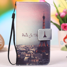 Multi colors Cartoon Printing Flip PU Leather Phone Wallet Case For Vertex Impress XL 5″ Mobile Phone case cover +Tracking
