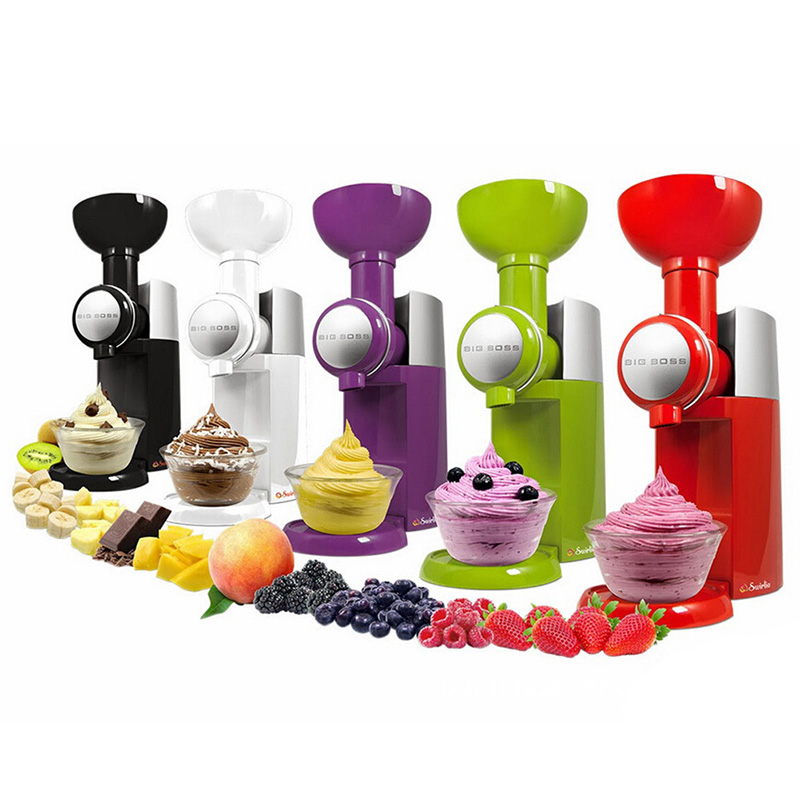 New frozen fruit desert maker eco-friend ice cream machine healthy fresh fruit desert yougurt machine edtid new high quality small commercial ice machine household ice machine tea milk shop