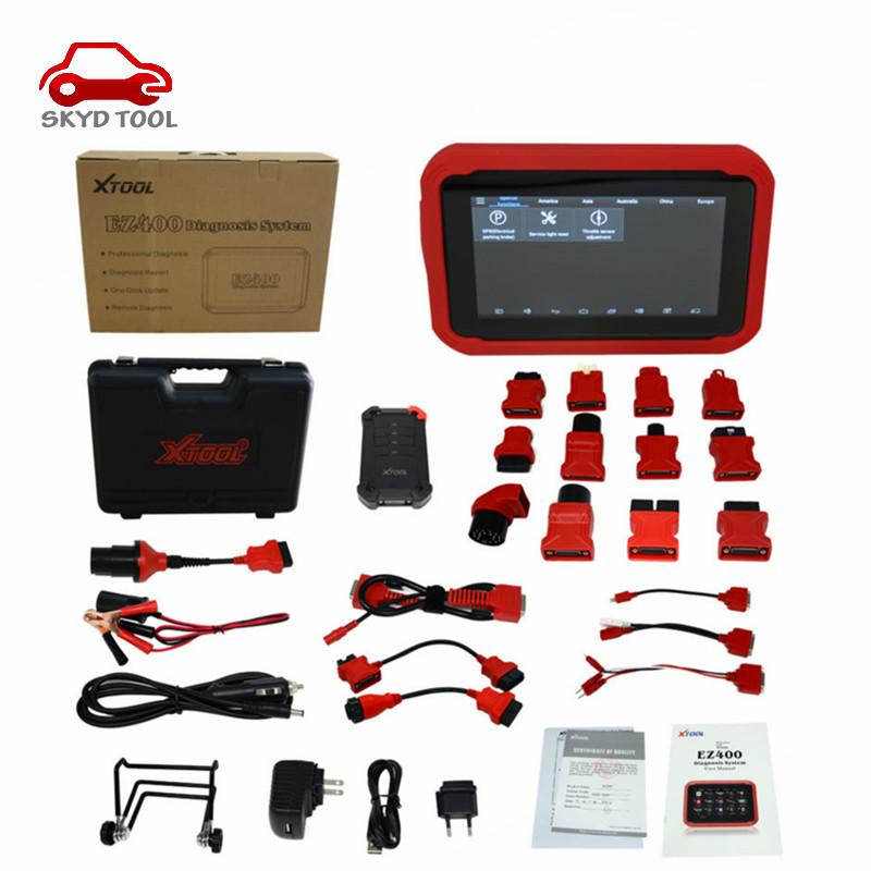 Original XTOOL EZ400 EZ 400 updated online function same as XTOOL PS90 PS 90 Diagnoctic Tool with DHL free shipping