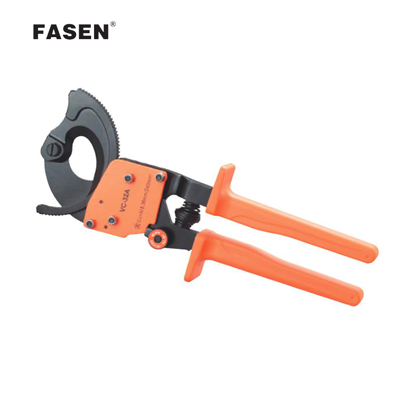 VC-32A VC-52A HS-520A Ratchet Cable Cutter plier vc 30a vc 36a vc 60a ratchet cable cutter tools cutting capacity 3 size 32mm 240mm 36mm 300mm 60mm 500mm