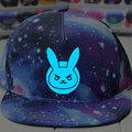 free shipping Game Character OW D.VA  high quality Luminous hat Sport baseball caps