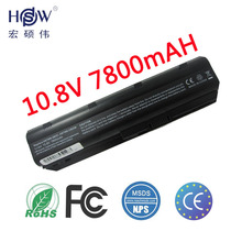 7800MaH Battery for HP Pavilion DM4 DV3 DV5 DV6 DV7 G32 G42 G62 G56 G72 for COMPAQ Presario CQ32 CQ42 CQ56 CQ62 CQ630 CQ72 MU06 12 cell extended life battery for hp compaq presario cq32 cq42 cq56 cq62 cq72