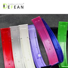 Defean Glossy shine color  top headband head band headphone parts hings screws bands for beat studio headphones headset