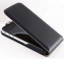 Телефоны, вертикальный футляр магнитные флип настоящее натуральной роскошные ретро кожи крышка