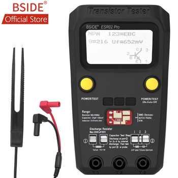 BSIDE ESR02PRO Digital Transistor SMD Components Test Multimeter Capacitance Diode Triode Inductance Multimeter ESR Tester - Category 🛒 Tools