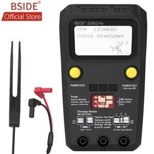 Image 1 - Bside ESR02PROデジタルトランジスタsmd部品テストジタルマルチメータキャパシタンスダイオードトライオードインダクタンスマルチテスター