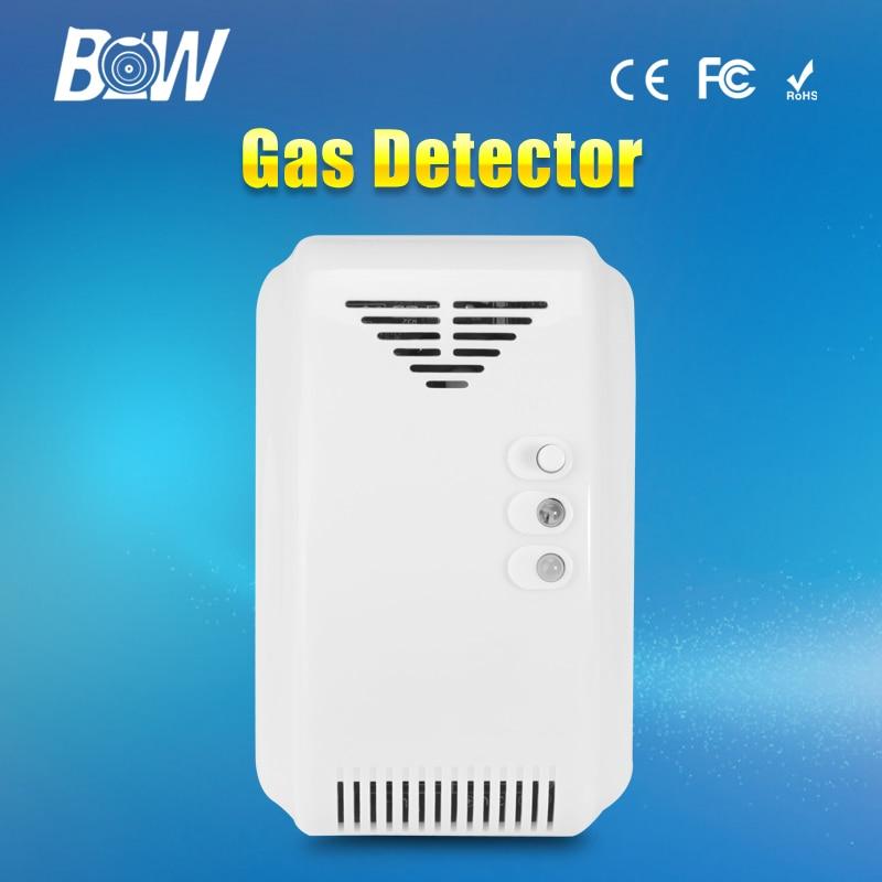 High Sensitive Wireless Wifi Gas Detector Automatic Alarm Sensor Cam Accessory Siren for Surveillance Security CCTV