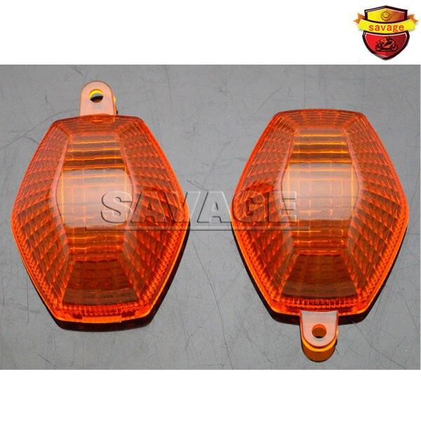 For SUZUKI DL650 DL1000 DL 650/1000 V-Strom GSX 650F/1250FA Motorcycle Accessories Turning signal Blinker Light Lens Amber