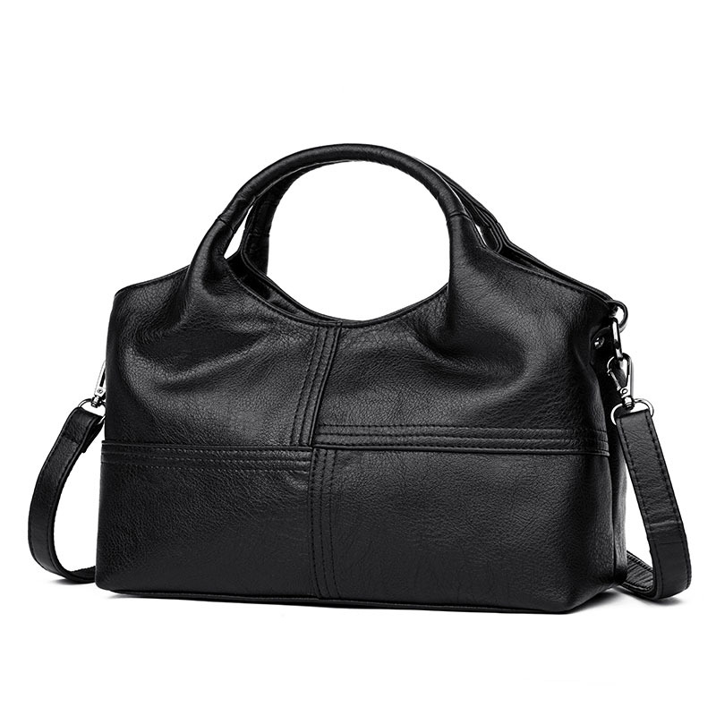 Hot Sale Fashion Patchwork Sheepskin Leather Shoulder CrossBody Bags Ladies Women Tote Bags Women's Genuine Leather Handbags