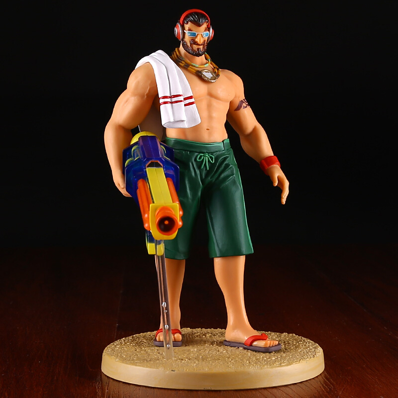 Pool Party Graves  the Outlaw 18cm pvc action figure game character kids model toys juguetes brinquedos hot sale street fighter v chun li bigboystoys with light action figure game toys pvc action figure collection model toys kids for gift