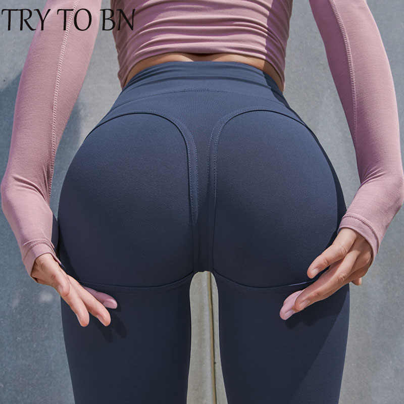 TENTAR BN 2019 Sexy Leggings De Fitness Cintura Alta Casual Push Up Treino de Fitness Legging Leggings Para As Mulheres Legins