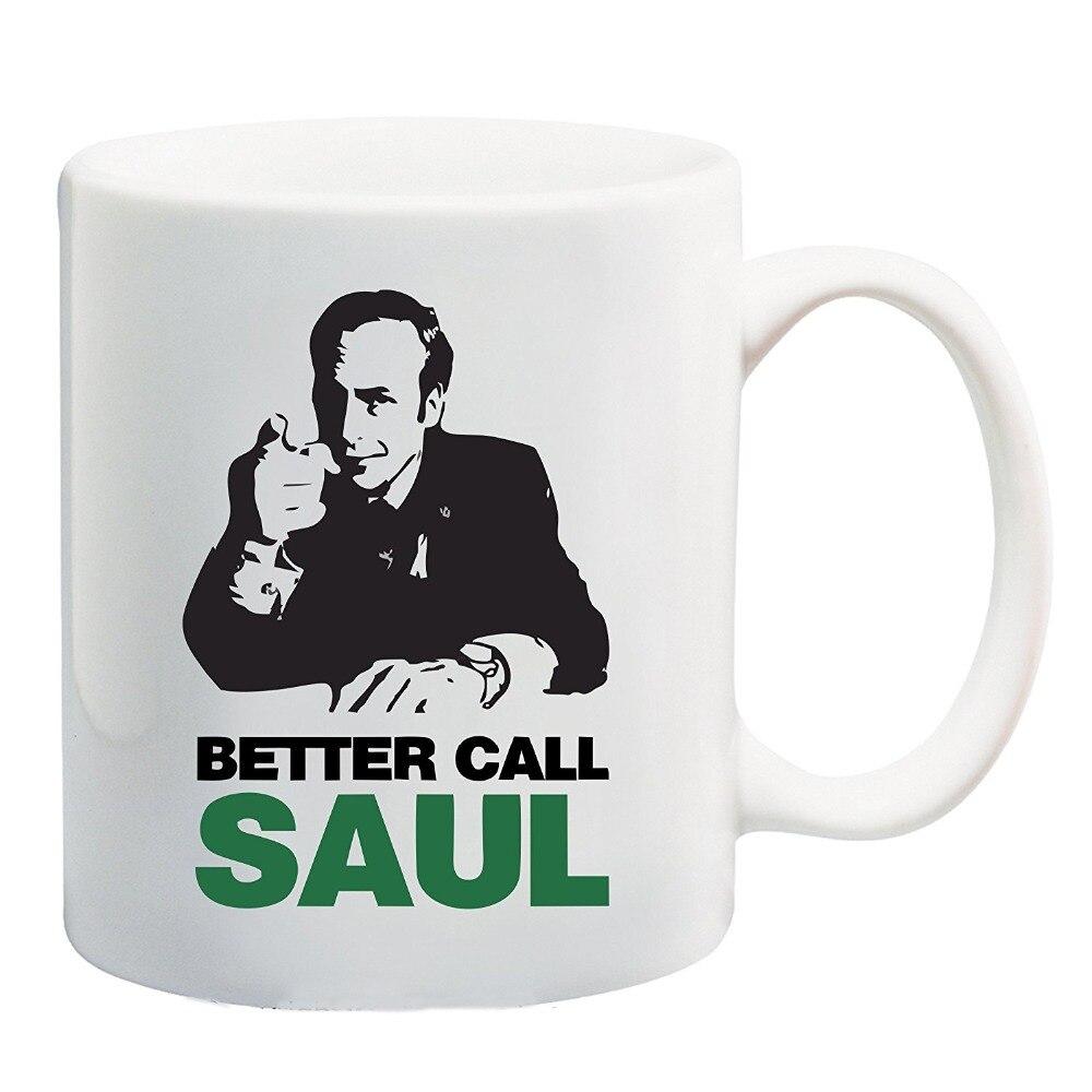 ⑦Mejor llamada Saul breaking Bad Tazas taza té Mugen de la cerveza ...