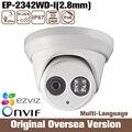 HIK Oem Ds-2cd2342wd-i 2.8mm CFTV Ip Poe Cctv Câmera 4mp infravermelho Cmos Noite Onvif Roi 1080 p RJ45 Inglês Versão do Reino Unido NVR
