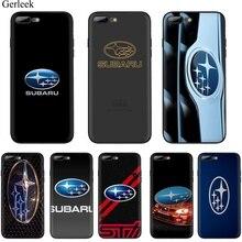Мобильный Силиконовый чехол для телефона для Apple iPhone 5 5S SE 6 6s 8 7 Plus X XR XS максимальный чехол автомобильный Логотип Subaru корпус