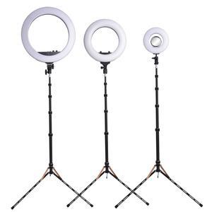 Image 5 - Fusitu FT 220 פחמן סיבי אור Stand ראש Softbox לצילום סטודיו Led תאורת צילום חצובה פלאש מטריית רפלקטור
