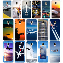06D Airplane At The Sunrise aircraft plane design Hard Cover Case for Meizu M2 M3S M3 M3S M5S Mini M3 note M5 M6 M6 note U10 U20(China)