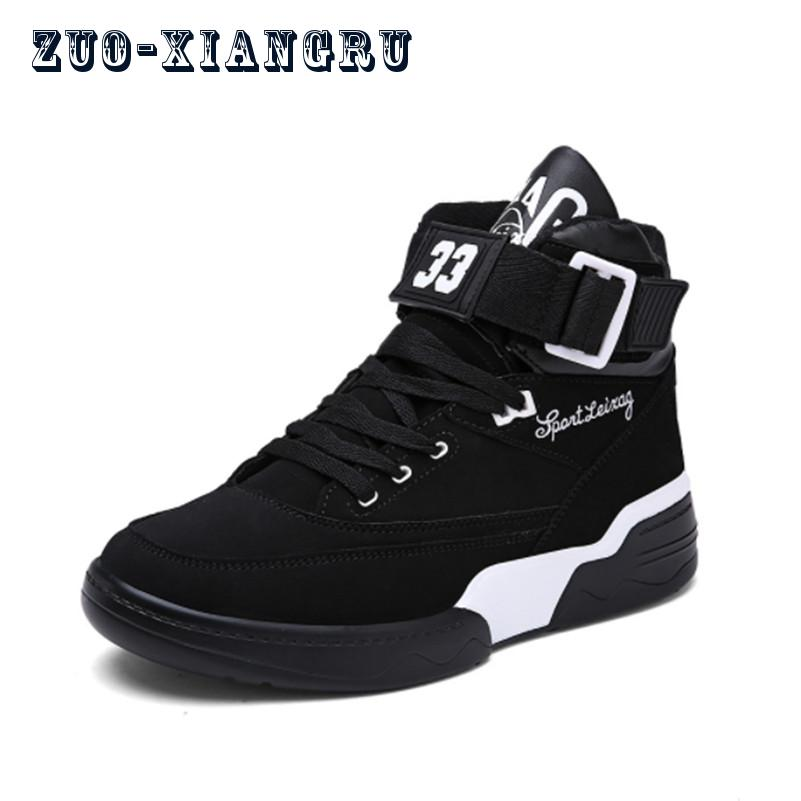 New Brand Sneakers High Top Skateboarding Shoe High Quality Personality Sole Sneaker Men ...