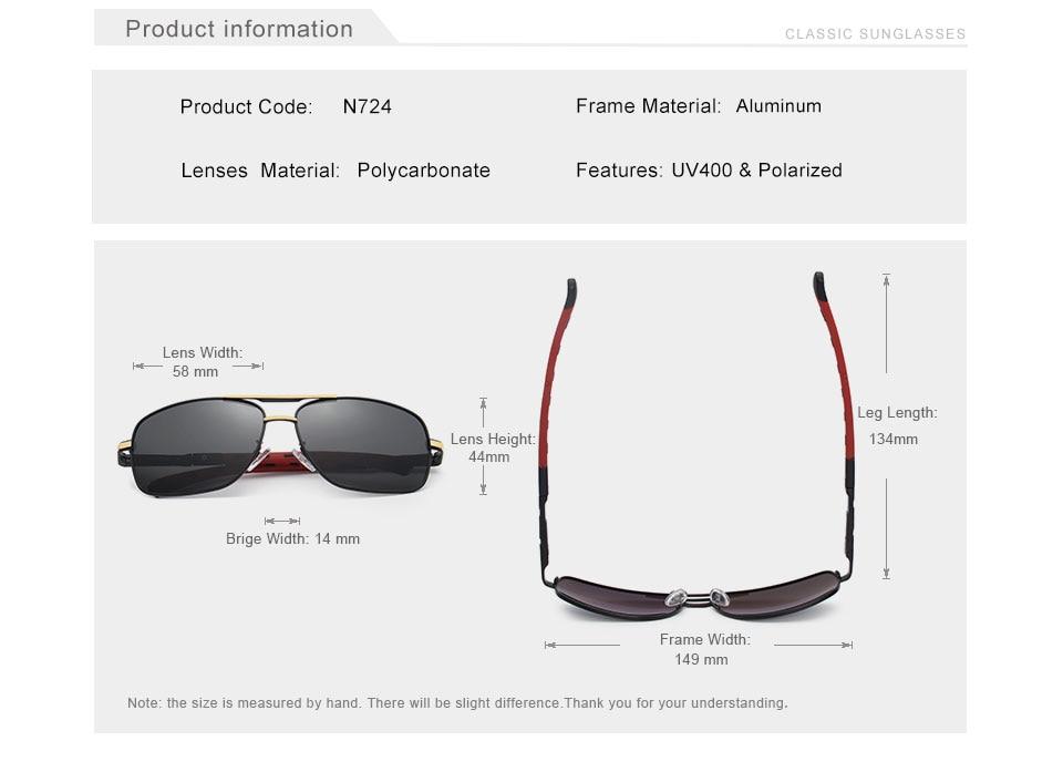 HTB1uL59ogDD8KJjy0Fdq6AjvXXaU GIFTINGER 2020 Brand Men Aluminum Sunglasses HD Polarized UV400 Mirror Male Sun Glasses Women For Men Oculos de sol N724