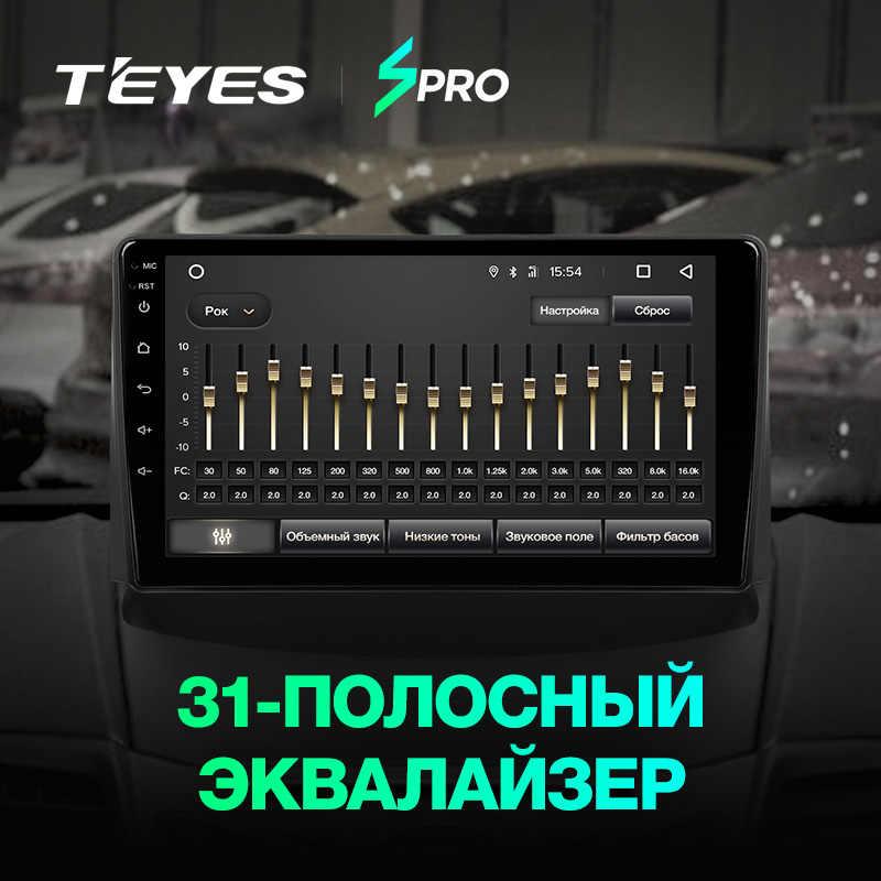 TEYES SPRO フォードフィエスタ 6 Mk 6 2008-2013 カーラジオマルチメディアビデオプレーヤーナビゲーション GPS アンドロイド 8.1 なし 2din 2 din dvd