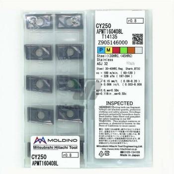 APMT 160408L CY250  original HITACHI  carbide insert  milling insert 10PCS/LOT APMT160408L