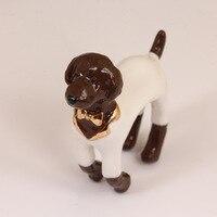 3色ラブリー子犬パーティーリング女性の調節可能な動物金本当にメッキリング高級装飾品ジュエリーギフト