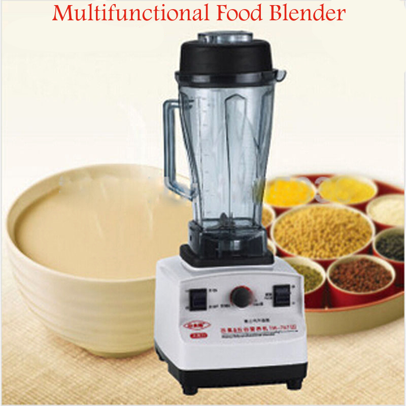 TM-767L Electric Beans Blender High-Power Fruit Mixer Ice Crusher Juicers Multifunctional Food Blender 2200w heavy duty commercial grade blender mixer juicer high power food processor ice smoothie bar fruit blender octavo
