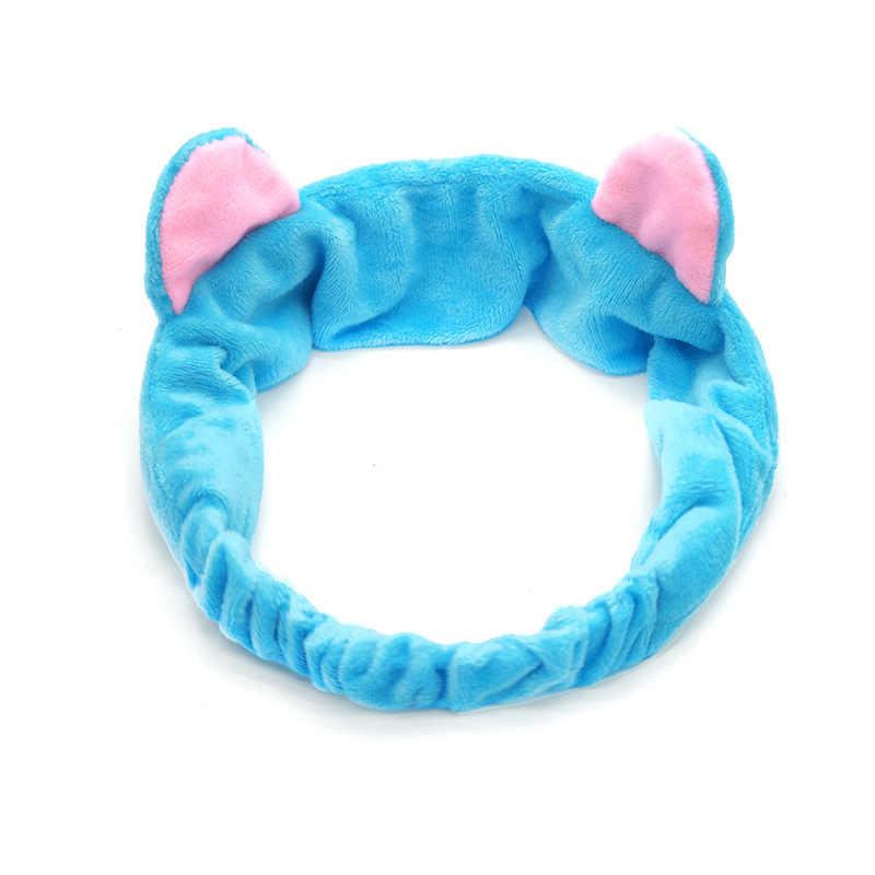 Coral Fleece Soft Cat Ear Hair Head Band Hairbands Headbands Party Gift Headdress Headwear Ornament Trinket Hair Accessories