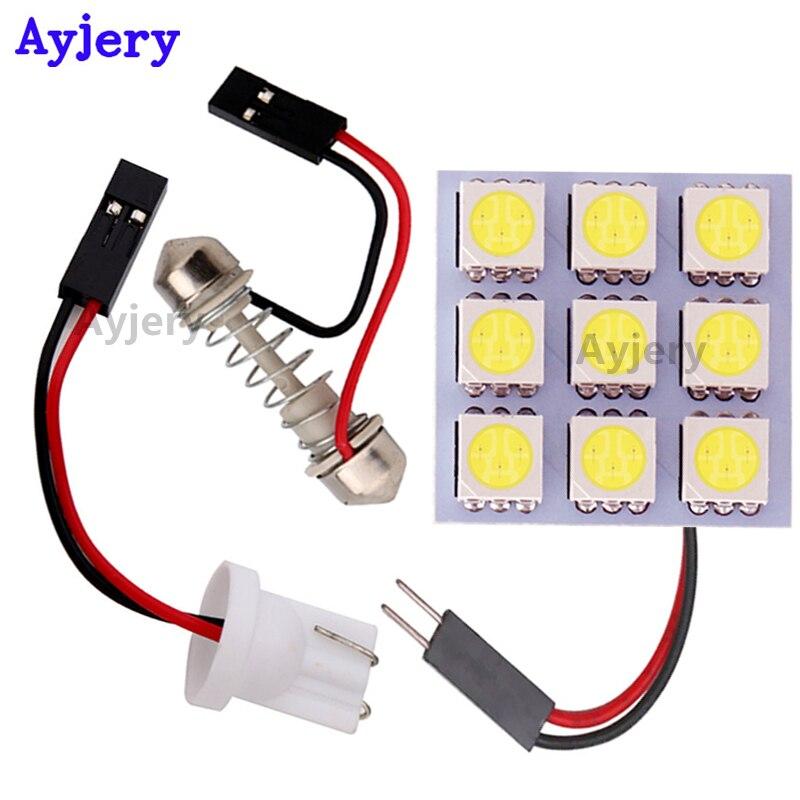 CITROEN 41MM 5050 3 SMD LED Festoon Car Light Lamp Bulb