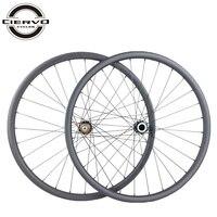 1040g 650B lefty 1.0 2.0 carbon wheels 25mm x 27mm 27.5er straight pull clincher tubeless left hand wheelset 135mm QR 12X142mm