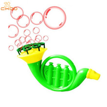 1PC 15cm Soap Bubble Multi Music Bubble Gun Style Concentrate Stick No liquild Sax Kid Gazillion Bubbles bar blowing