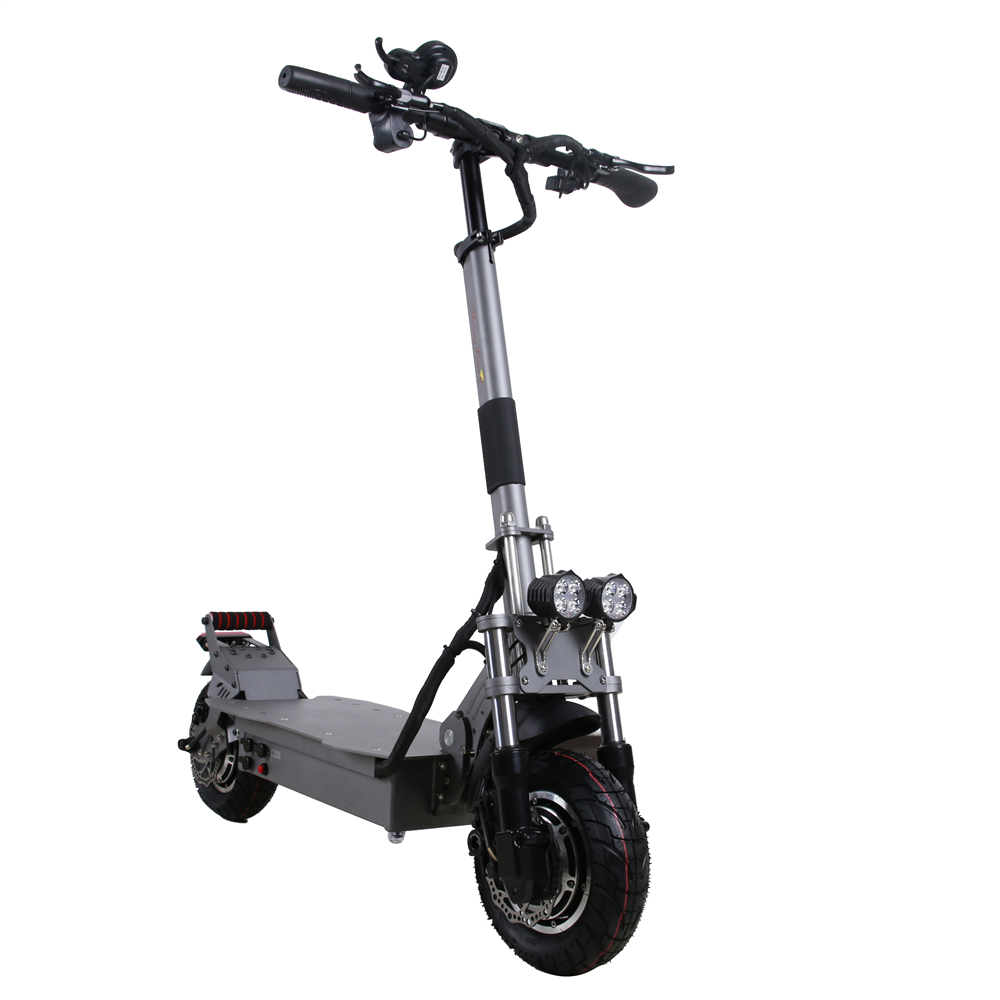 Shipping By Train UBGO Moving Paws MP-10D01 52V LG Battery Double Driver Motor Powerful 10 Inch E-Scooter