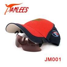 Brand PANLEES hat sun glasses funny polarized anti glare protective eye clip on cap climbing/ fishing sports sunglasses gafas