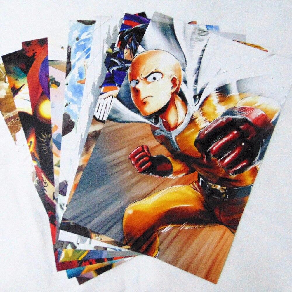8 * (42x29 cm) UN PUNCH-MAN affiches Anime affiches Stickers Muraux