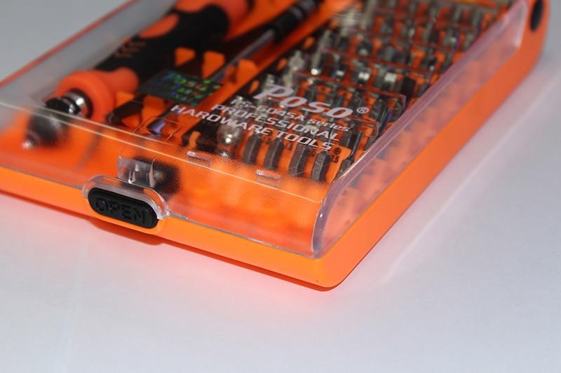 45 in 1 set di cacciaviti PS-6045A multitool con utensili manuali per - Set di attrezzi - Fotografia 5