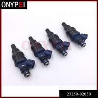 4 pcs Injecteur de Carburant Pour 92-97 Toyota Carina E AT190 4AFE AT191 7AFE 23250-02030