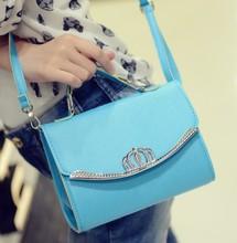 Sommer Großhandel Handtaschen Billig Crown Süße Dame Kleine Umhängetasche Mode Europa Amerikanischen Stil frauen Handtaschen Schulter