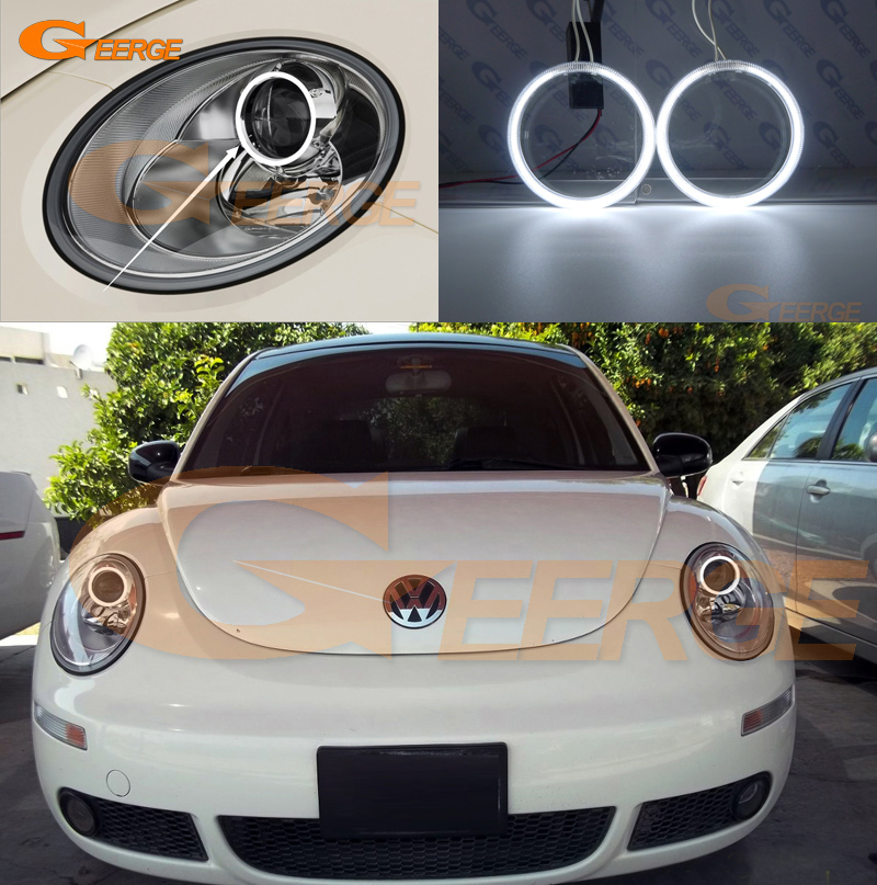 For Volkswagen VW Beetle 2006 2007 2008 2009 2010 Excellent Ultra bright illumination CCFL Angel Eyes kit Halo Ring