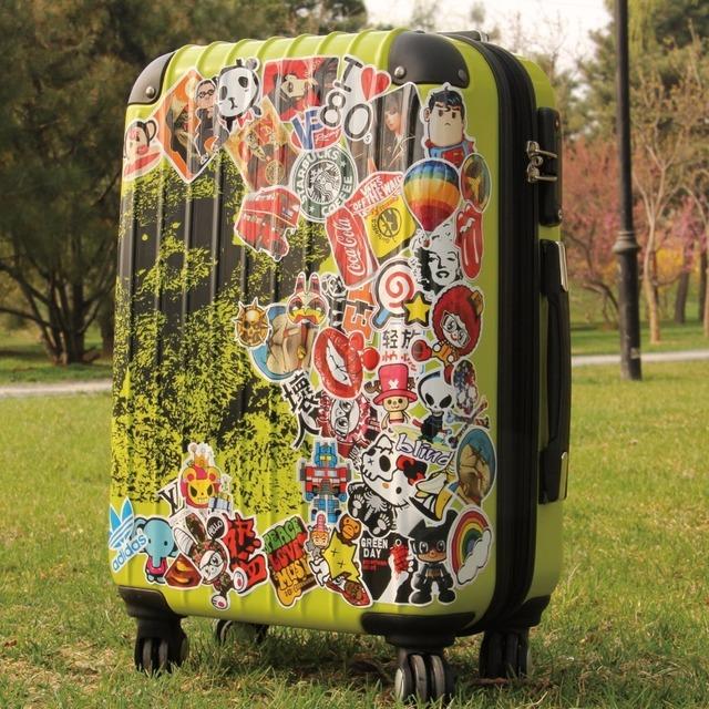 AQK 50 Pcs Cute Waterproof Super Hero Stickers For MARVEL DC Graffiti Sticker For Skateboard Luggage Laptop Notebook Guitar Car