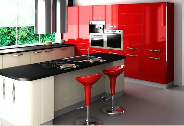 Pvc Behang Keuken : Pvc waterdicht behang keuken meubels behang lijm papier voor meubels